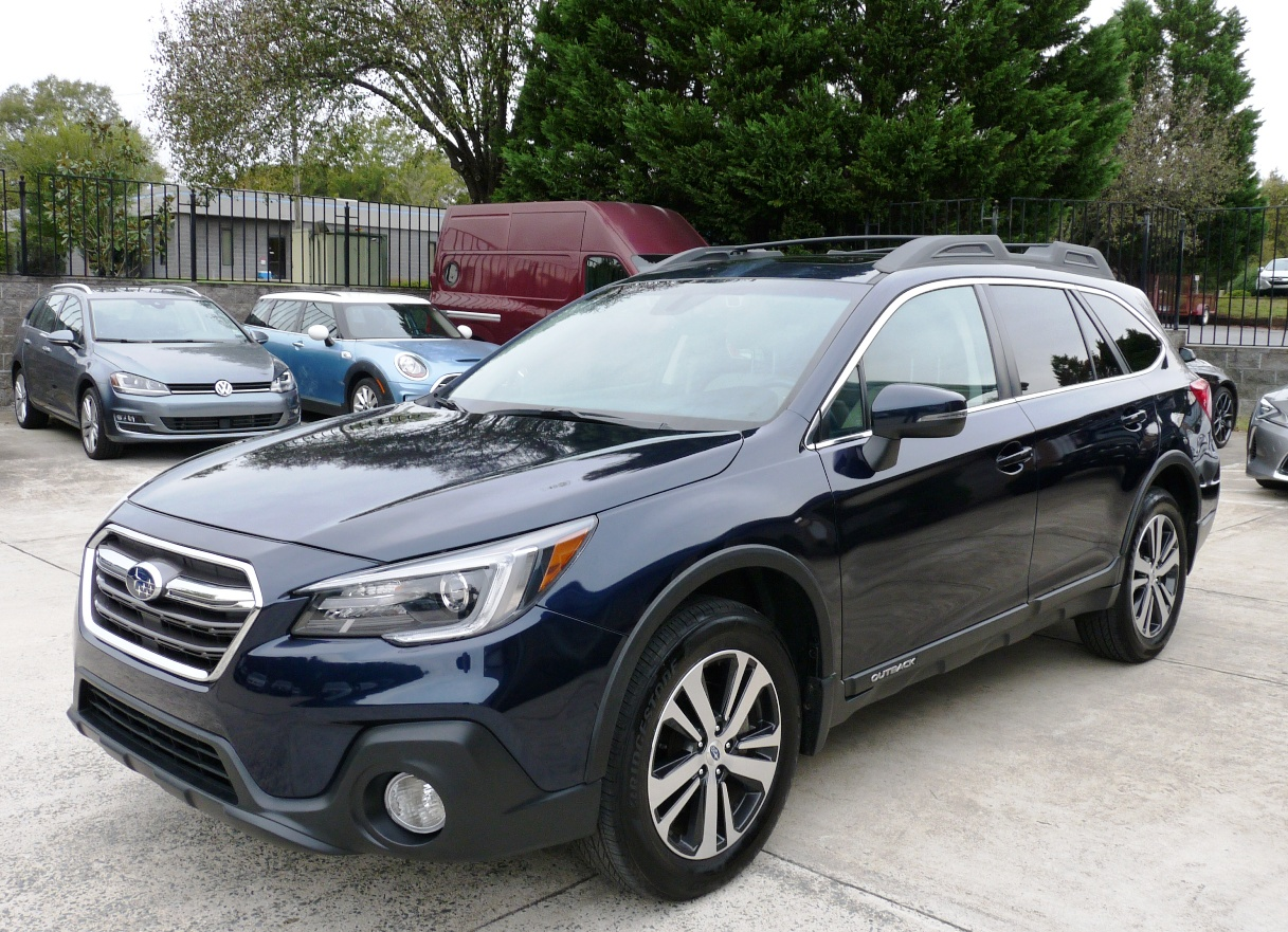 2018 SUBARU OUTBACK LIMITED EDITION ALL POSSIBLE OPTIONS FOR THE MODEL